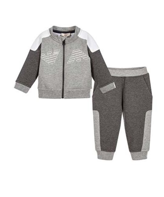 ARMANI JUNIOR ARMANI JUNIOR BABY BOYS JOGGING SUIT