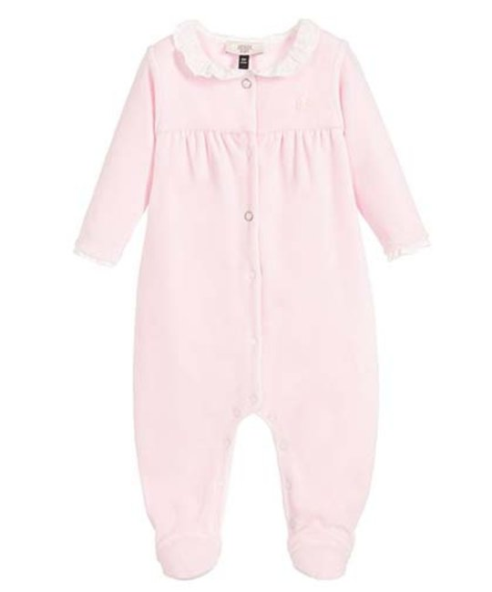 ARMANI JUNIOR ARMANI JUNIOR BABY GIRLS ONESIE