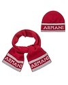 ARMANI JUNIOR ARMANI JUNIOR BABY BOYS HAT & SCARF SET