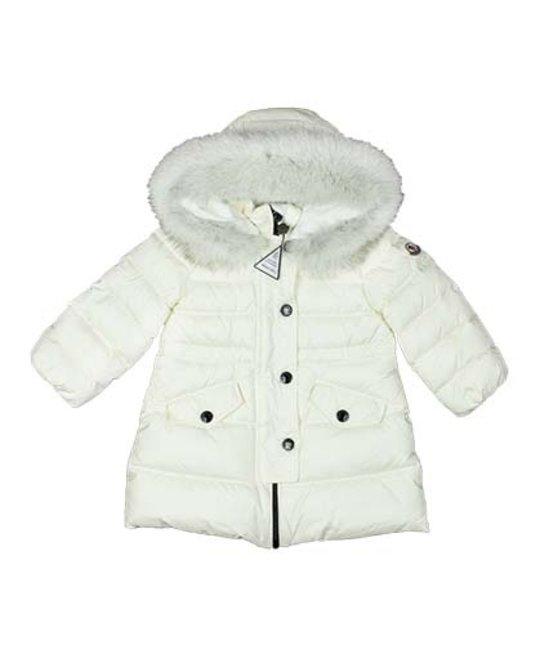 moncler baby white jacket