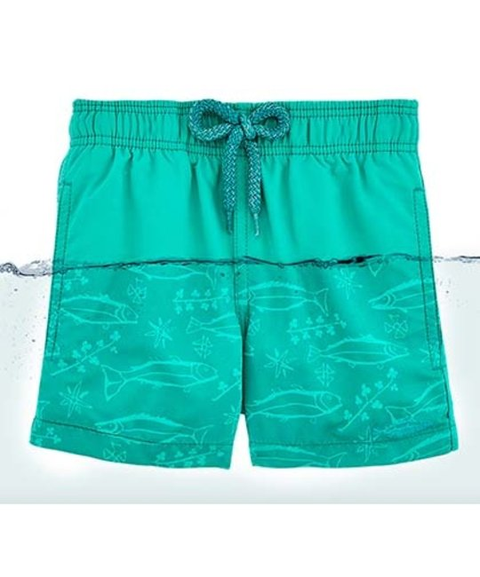 VILEBREQUIN VILEBREQUIN INVISIBLE FISH SWIM SHORTS