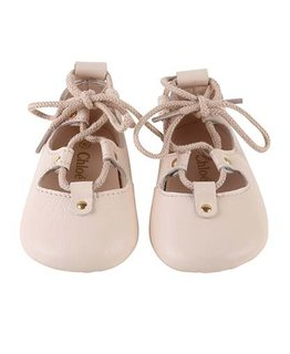 CHLOÉ BABY GIRLS BALLERINAS
