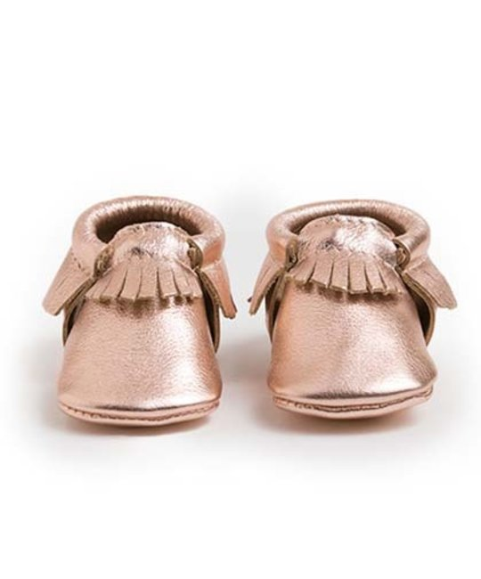 FRESHLY PICKED FRESHLY PICKED ROSE GOLD MOCCASIN