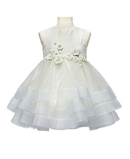 LITTLE MISS AOKI GIRLS DOUBLE LAYER DRESS