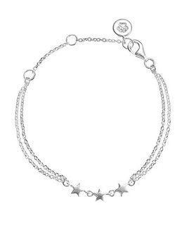 MOLLY BROWN LONDON STERLING SILVER STAR BRACELET