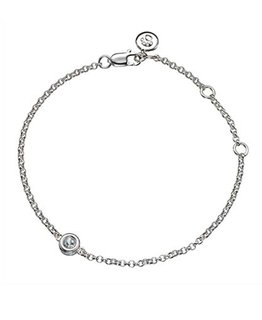 MOLLY BROWN LONDON MARCH BIRTHSTONE BRACELET-AQUAMARINE