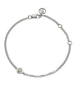 MOLLY BROWN LONDON OCTOBER BIRTHSTONE BRACELET-OPAL