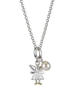 MOLLY BROWN LONDON WHITE FAIRY WISH NECKLACE