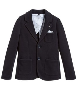 ARMANI JUNIOR BABY BOYS BLAZER