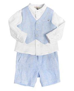 ARMANI JUNIOR BABY BOYS TOP & SHORT SET