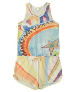 STELLA MCCARTNEY KIDS GIRLS ROMPER
