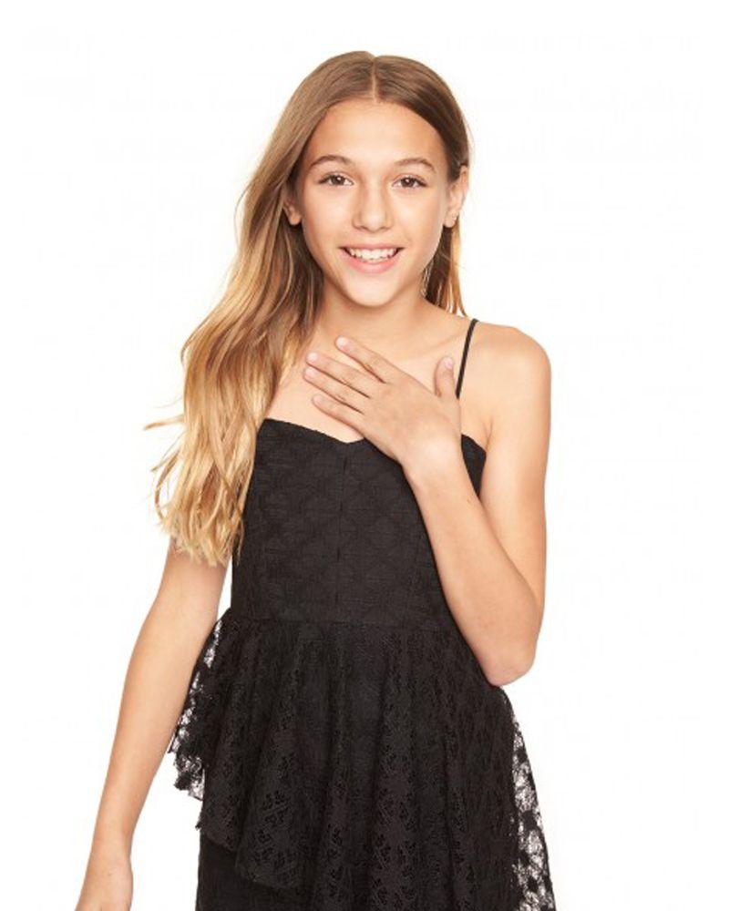 MILLY MINIS MILLY MINIS GIRLS ELIZABETH DRESS - Designer Kids Wear