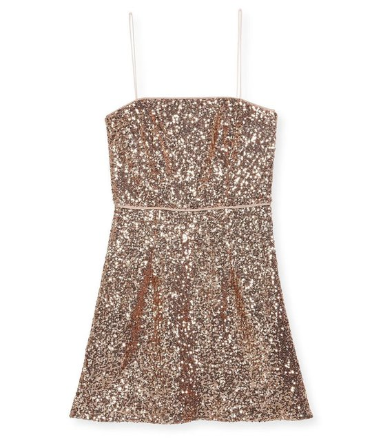 MILLY MINIS MILLY MINIS GIRLS SEQUINS DRESS
