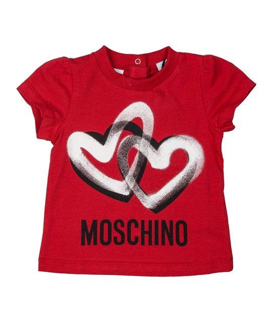 MOSCHINO MOSCHINO BABY GIRLS TEE SHIRT
