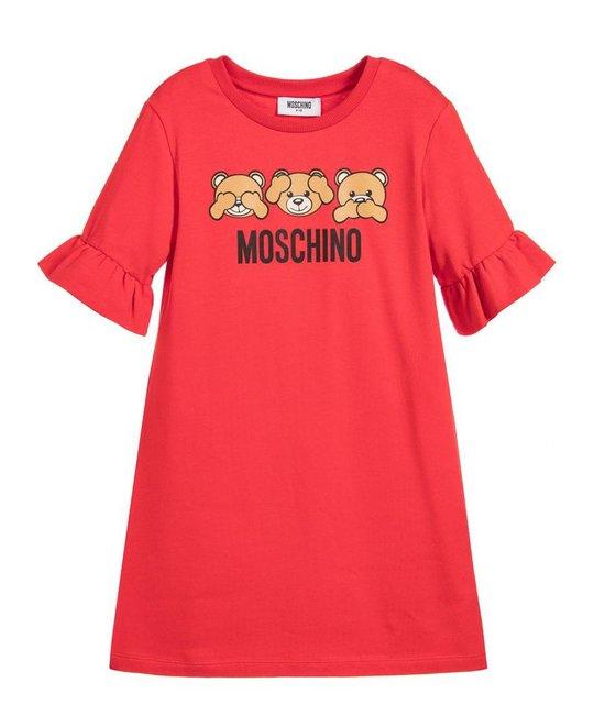 MOSCHINO MOSCHINO GIRLS BELL SLEEVE DRESS