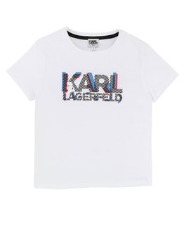 KARL LAGERFELD KIDS BOYS TEE SHIRT