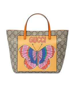 GUCCI GIRLS BUTTERFLY TOTE