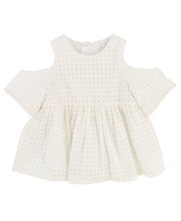 CHLOÉ GIRLS BLOUSE