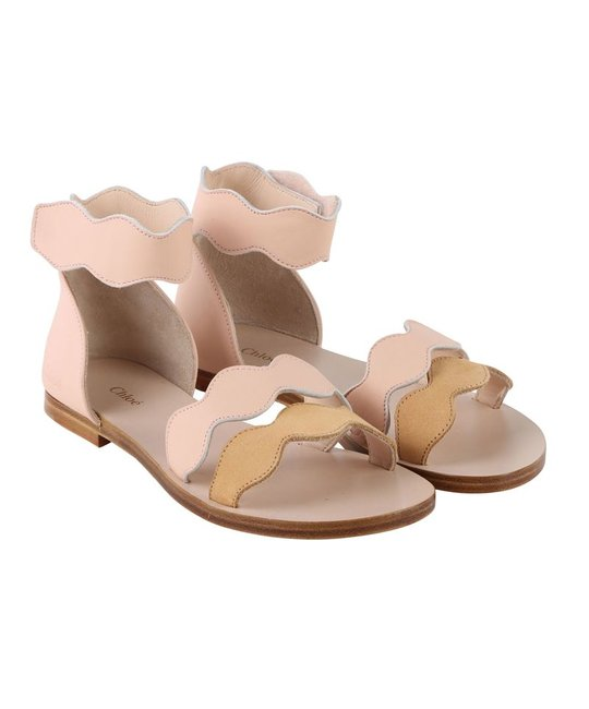 CHLOÉ CHLOÉ GIRLS SANDALS
