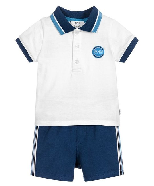 BOSS BOSS BABY BOYS POLO & SHORT SET