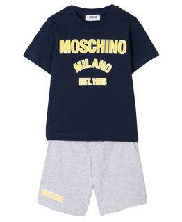 MOSCHINO BOYS TEE & SHORT SET