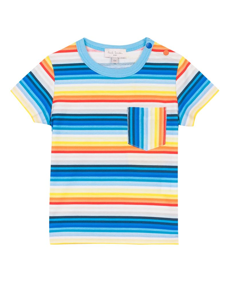 Paul Smith Junior Paul Smith Junior Baby Boys Tee Shirt Designer