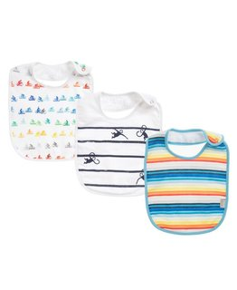 PAUL SMITH JUNIOR BABY BIB SET
