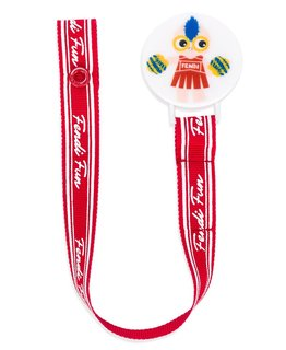 FENDI BABY GIRLS PACIFIER CLIP