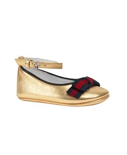 GUCCI BABY GIRLS CINDY BALLET FLATS