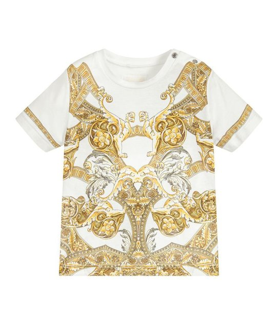 YOUNG VERSACE YOUNG VERSACE BABY BOYS TEE SHIRT