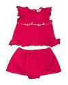 ARMANI JUNIOR ARMANI JUNIOR BABY GIRLS TOP & SKORT SET