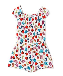 MOSCHINO GIRLS ROMPER