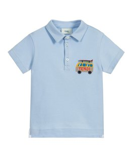 FENDI BOYS POLO