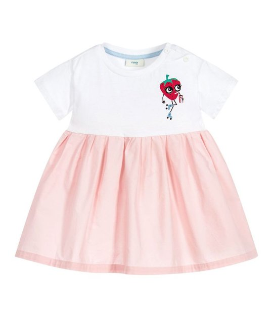 FENDI FENDI BABY GIRLS DRESS