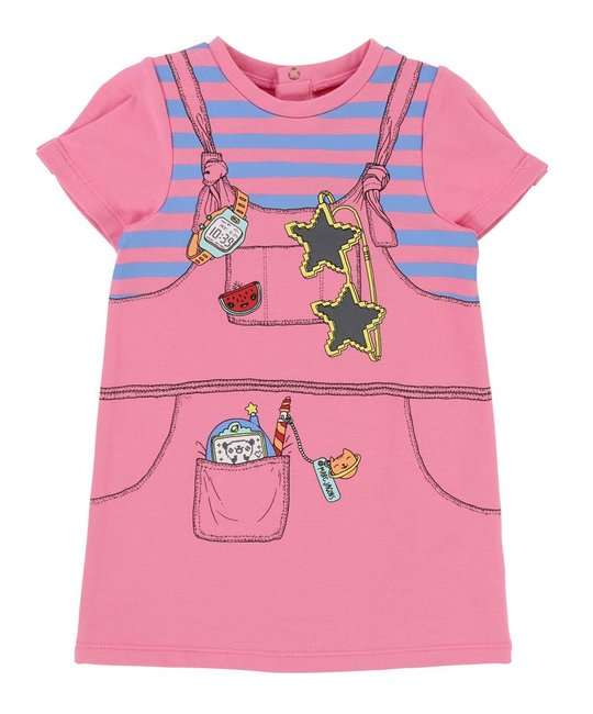 LITTLE MARC JACOBS LITTLE MARC JACOBS BABY GIRLS DRESS