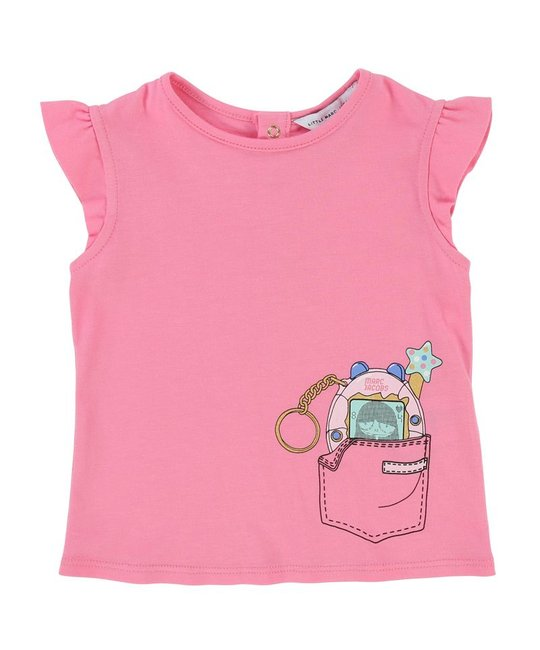 LITTLE MARC JACOBS LITTLE MARC JACOBS BABY GIRLS TEE SHIRT