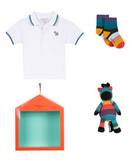 PAUL SMITH JUNIOR BABY BOYS GIFT SET