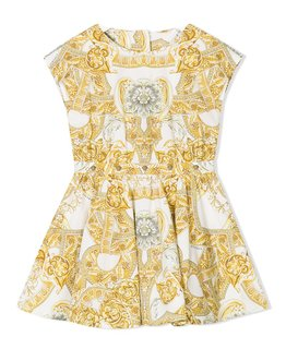 YOUNG VERSACE GIRLS DRESS