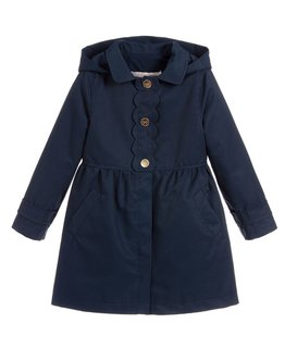 LILI GAUFRETTE GIRLS RAINCOAT