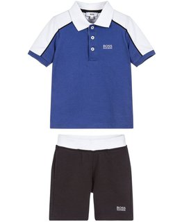 BOSS BOYS POLO & SHORT SET