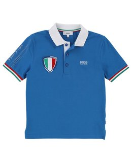 BOSS FIFA TEAM ITALY POLO