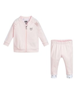 KARL LAGERFELD KIDS BABY GIRLS JOGGING SUIT