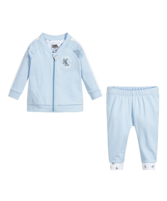 KARL LAGERFELD KIDS KARL LAGERFELD KIDS BABY BOYS JOGGING SUIT
