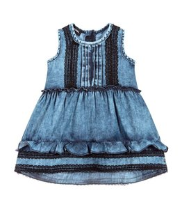 DIESEL BABY GIRLS DRESS