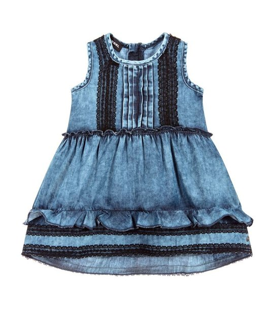 DIESEL DIESEL BABY GIRLS DRESS