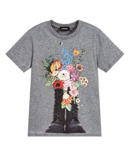 DIESEL GIRLS TEE SHIRT