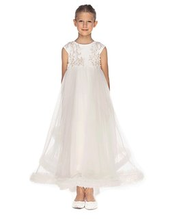 LITTLE MISS AOKI GIRLS EMPIRE DRESS