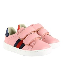 GUCCI GIRLS TODDLER NEW ACE SNEAKER