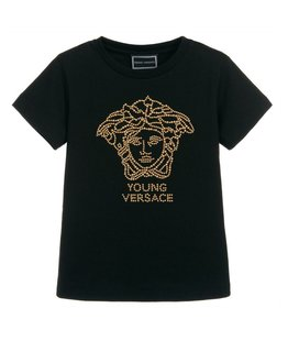 YOUNG VERSACE GIRLS TEE SHIRT