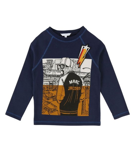 LITTLE MARC JACOBS LITTLE MARC JACOBS BOYS TOP